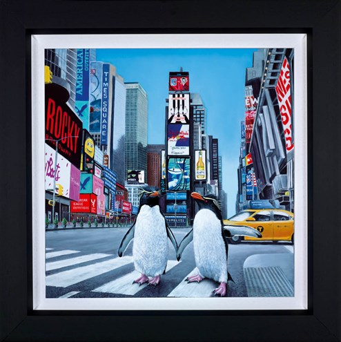 New York Times by Steve Tandy - Framed Limited Edition on Canvas